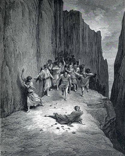 """Иллюстрация Дюрера к """"Божественной комедии"""" Данте. Тот самый ад."""