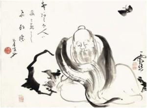 Чжуан Цзы и бабочка